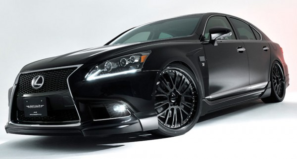 Тюнинг-пакет ARTISAN SPIRITS Sports-Spec Line Lexus LS F Sport 2012