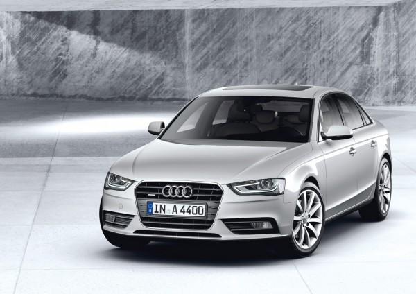 Полный внешний рестайлинг Audi A4 2013