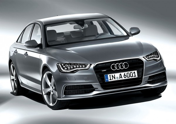Рестайлинг-пакет Audi A6 S-line 2012