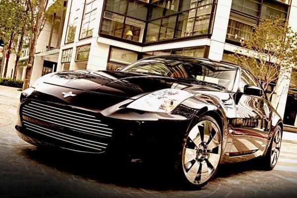 Тюнинг-пакет DAMD Black x Metal Nissan 350Z