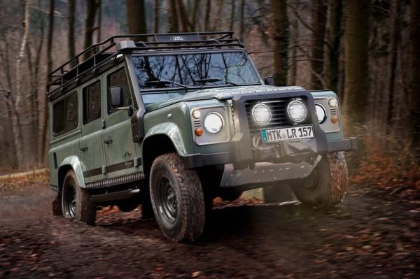 Рестайлинг-пакет Land Rover Defender 110 Blaser Edition 2012