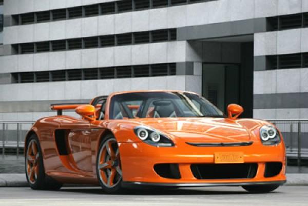 Тюнинг-пакет TechART Porsche Carrera GT