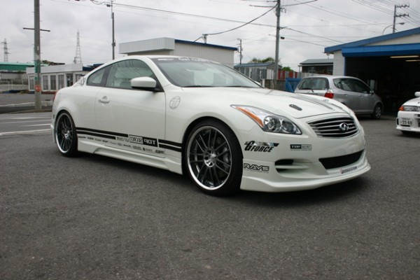 Тюнинг-пакет TOP SECRET Infiniti G25 / G35 / G37 Cabrio/Coupe /2007-2013/